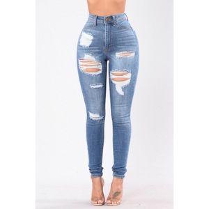Fashion Nova's Heavy Lifting Jeans